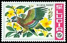 Cl: St. Lucia Parrot (Amazona versicolor)(Endemic or near-endemic)  SG 257 (1969)