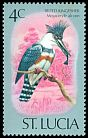 Cl: Belted Kingfisher (Ceryle alcyon) SG 417 (1976) 35