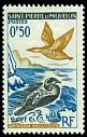 Cl: Common Eider (Somateria mollissima)(Repeat for this country)  SG 422 (1963) 15