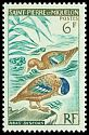 Cl: Blue-winged Teal (Anas discors) SG 425 (1963) 90