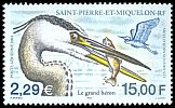Cl: Great Blue Heron (Ardea herodias) SG 860 (2001)