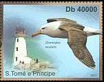 Cl: Wandering Albatross (Diomedea exulans)(Out of range) (I do not have this stamp) (not catalogued)  (2011)  [7/40]