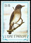 Cl: Olivaceous Thrush (Turdus olivaceofuscus) <<Toldo>> (not catalogued)  (1983)