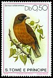 Cl: Principe Seedeater (Serinus rufobrunneus)(not catalogued)  (1979)