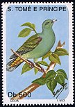Cl: Sao Tome Green-Pigeon (Treron sanctithomae)(not catalogued)  (1993)  [1/10]
