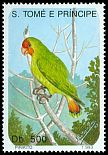 Cl: Red-headed Lovebird (Agapornis pullarius) <<Pirikito>> (not catalogued)  (1993)