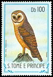 Cl: Barn Owl (Tyto alba thomensis) <<Coruja>> (not catalogued)  (1983)