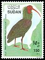Cl: Northern Bald Ibis (Geronticus eremita) SG 462 (1990) 150