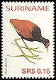 Cl: Wattled Jacana (Jacana jacana)(Repeat for this country)  SG 2128 (2005) 30 [5/12]