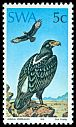 Cl: Verreaux's Eagle (Aquila verreauxii) SG 271 (1975) 175