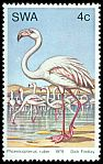 Cl: Greater Flamingo (Phoenicopterus roseus)(Repeat for this country)  SG 330 (1979)
