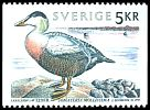 Cl: Common Eider (Somateria mollissima) <<Ejder>> (Repeat for this country)  SG 1705 (1993) 120