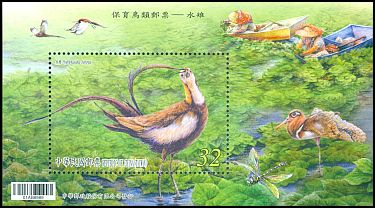 Cl: Pheasant-tailed Jacana (Hydrophasianus chirurgus)(Repeat for this country)  new (2017)