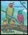 Cl: White-fronted Bee-eater (Merops bullockoides) SG 627 (1989) 75