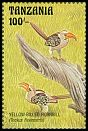 Cl: Eastern Yellow-billed Hornbill (Tockus flavirostris)(Repeat for this country) (I do not have this stamp)  SG 1573 (1993) 60 [7/50]