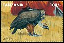 Cl: White-backed Vulture (Gyps africanus)(Repeat for this country) (I do not have this stamp) (not catalogued)  (1995)  [7/51]