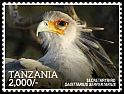 Cl: Secretarybird (Sagittarius serpentarius)(Repeat for this country) (I do not have this stamp)  new (2015)