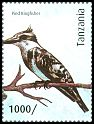 Cl: Pied Kingfisher (Ceryle rudis)(Repeat for this country) (I do not have this stamp)  new (2012)  [8/15]
