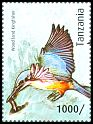 Cl: Woodland Kingfisher (Halcyon senegalensis)(I do not have this stamp)  new (2012)  [8/15]