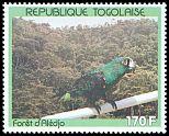 Cl: Red-fronted Parrot (Poicephalus gulielmi) SG 2106 (1991) 125