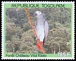Cl: Grey Parrot (Psittacus erithacus)(Repeat for this country)  SG 2107 (1991) 140