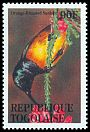 Cl: Orange-breasted Sunbird (Anthobaphes violacea)(Out of range and no other stamp)  SG 2139 (1995)
