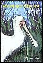 Cl: African Spoonbill (Platalea alba)(Repeat for this country)  new (2007)  [4/17]