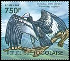 Cl: White-headed Vulture (Trigonoceps occipitalis)(I do not have this stamp)  new (2011)  [7/35]