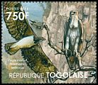 Cl: Martial Eagle (Polemaetus bellicosus)(I do not have this stamp)  new (2011)  [7/42]