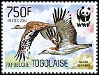 Cl: Stanley Bustard (Neotis denhami)(I do not have this stamp)  new (2014)