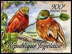 Cl: Orange Dove (Ptilinopus victor)(Out of range) (I do not have this stamp)  new (2016)
