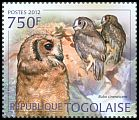 Cl: Greyish Eagle-Owl (Bubo cinerascens)(I do not have this stamp)  new (2012)  [7/58]