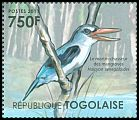 Cl: Mangrove Kingfisher (Halcyon senegaloides)(Out of range) (I do not have this stamp)  new (2011)  [7/35]