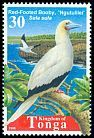 Cl: Red-footed Booby (Sula sula) <<Ngutulilei>>  SG 1429 (1998) 25