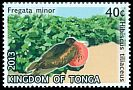 Cl: Great Frigatebird (Fregata minor)(Repeat for this country)  SG 1680 (2013)  [11/14]