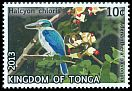 Cl: Collared Kingfisher (Todirhamphus chloris)(Repeat for this country)  SG 1677 (2013)  [11/14]