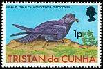 Cl: Great-winged Petrel (Pterodroma macroptera) <<Black Haglet>>  SG 220 (1977) 10