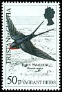 Cl: Barn Swallow (Hirundo rustica) SG 489 (1989)