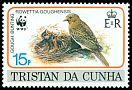 Cl: Gough Island Finch (Rowettia goughensis)(Endemic or near-endemic)  SG 521 (1991)
