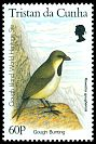 Cl: Gough Island Finch (Rowettia goughensis)(Endemic or near-endemic)  SG 605 (1996)