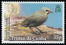 Cl: Gough Island Finch (Rowettia goughensis)(Endemic or near-endemic)  SG 1100 (2014)  [9/5]