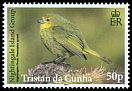 Cl: Nightingale Finch (Nesospiza acunhae questi)(Endemic or near-endemic)  SG 1102 (2014)  [9/5]