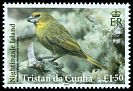 Cl: Wilkins' Finch (Nesospiza wilkinsi)(Endemic or near-endemic)  SG 1103 (2014)  [9/5]