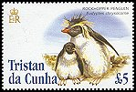Cl: Rockhopper Penguin (Eudyptes chrysocome)(Repeat for this country)  SG 844 (2005)  [3/57]
