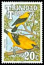Cl: Yellow Oriole (Icterus nigrogularis) SG 787 (1990)