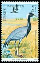 Cl: Demoiselle Crane (Anthropoides virgo) <<Turna>>  SG 2681 (1979) 30