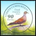 Cl: European Turtle-Dove (Streptopelia turtur) <<Uveyik>>  SG 4052b (2011)  [5/18]
