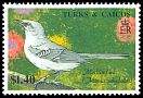 Cl: Northern Mockingbird (Mimus polyglottos)(Repeat for this country)  SG 1017 (1990)