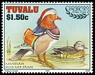 Cl: Mandarin Duck (Aix galericulata)(Out of range)  SG 785 (1997) 110