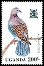 Cl: Laughing Dove (Streptopelia senegalensis) SG 382 (1982) 250